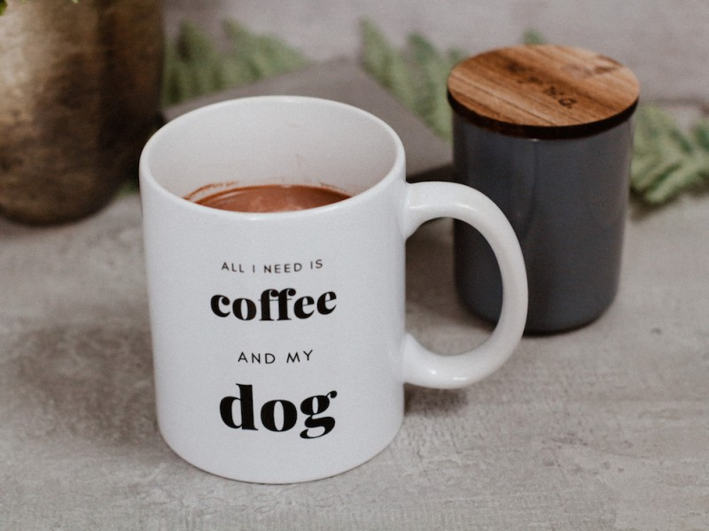 Tasse *All I need is Coffee and My Dog*